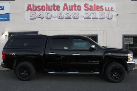2013 Chevrolet Silverado 1500 for sale at Absolute Auto Sales in Fredericksburg VA