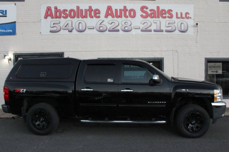 2013 Chevrolet Silverado 1500 for sale at Absolute Auto Sales in Fredericksburg VA