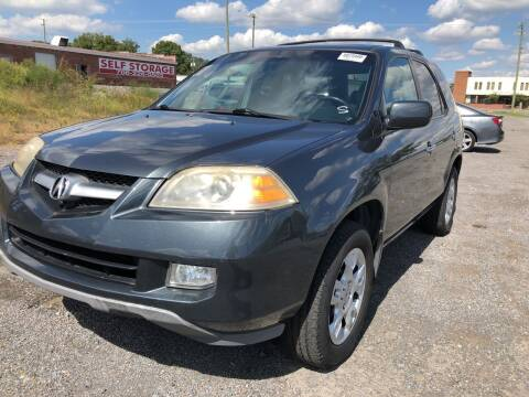 2006 Acura MDX for sale at Diana Rico LLC in Dalton GA
