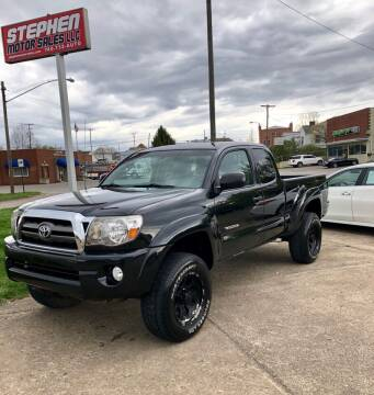 2010 Toyota Tacoma for sale at Stephen Motor Sales LLC in Caldwell OH