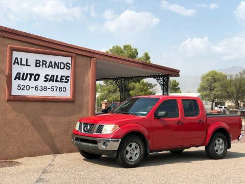 2005 Nissan Frontier for sale at All Brands Auto Sales in Tucson AZ