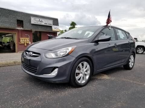 2012 Hyundai Accent for sale at DALE'S AUTO INC in Mt Clemens MI