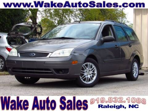 2005 Ford Focus for sale at Wake Auto Sales Inc in Raleigh NC
