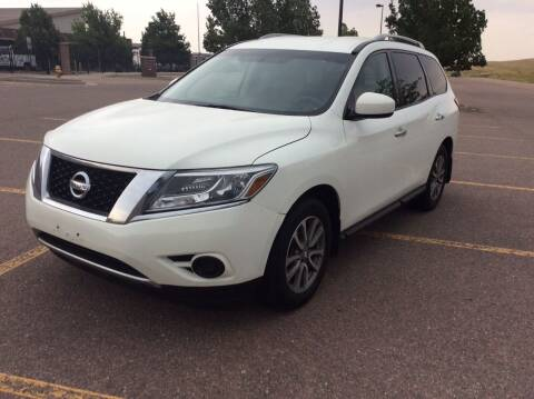 2015 Nissan Pathfinder for sale at AROUND THE WORLD AUTO SALES in Denver CO