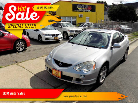 2004 Acura RSX for sale at GSM Auto Sales in Linden NJ