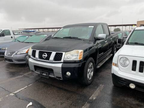 2005 Nissan Titan for sale at EV Auto Sales LLC in Sun City AZ