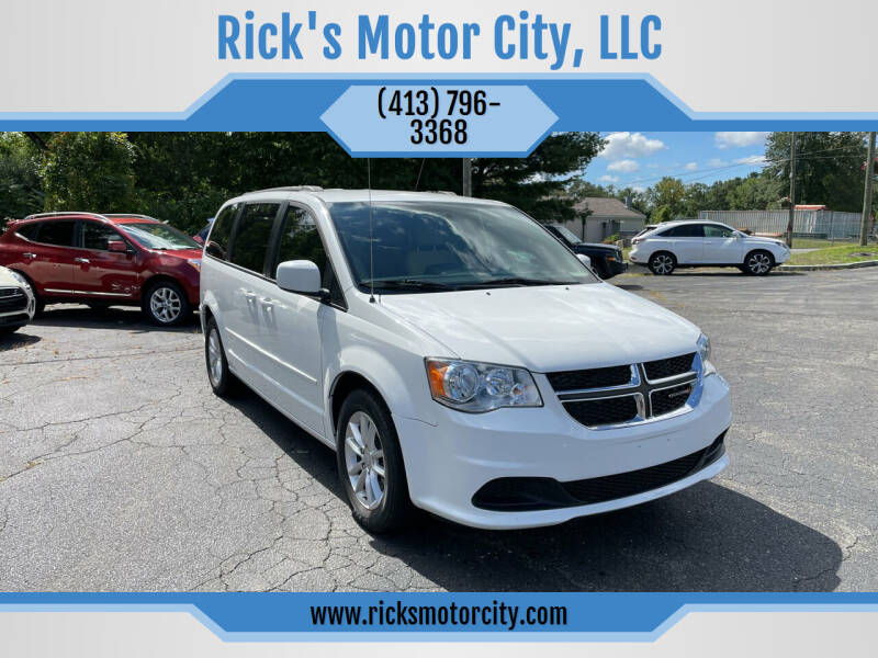 2014 Dodge Grand Caravan for sale at Rick's Motor City, LLC in Springfield MA