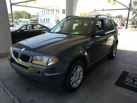 2004 BMW X3 for sale at ROBINSON AUTO BROKERS in Dallas NC