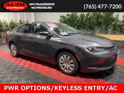 2016 Chrysler 200 for sale at Auto Express in Lafayette IN