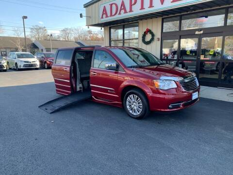 2015 Chrysler Town and Country for sale at Adaptive Mobility Wheelchair Vans in Seekonk MA
