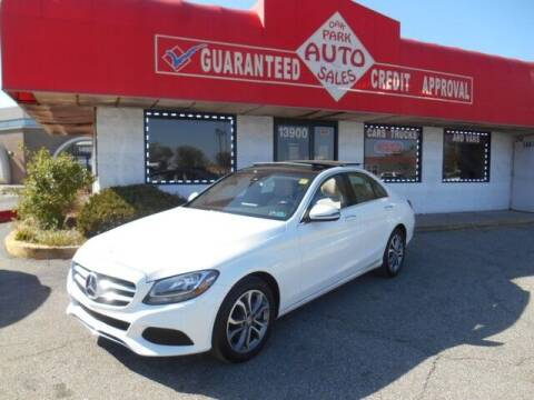2016 Mercedes-Benz C-Class for sale at Oak Park Auto Sales in Oak Park MI