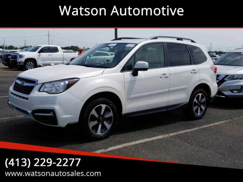 2017 Subaru Forester for sale at Watson Automotive in Sheffield MA