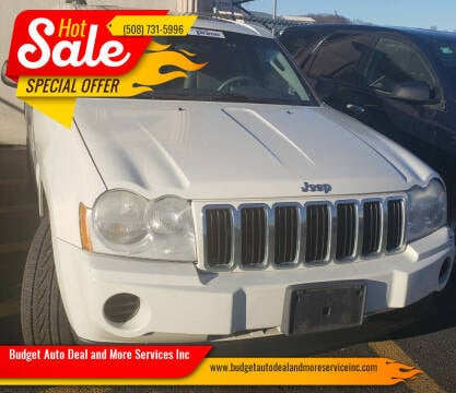 2006 Jeep Grand Cherokee for sale at Budget Auto Deal and More Services Inc in Worcester MA