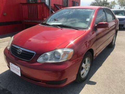 2007 Toyota Corolla for sale at Talisman Motor City in Houston TX