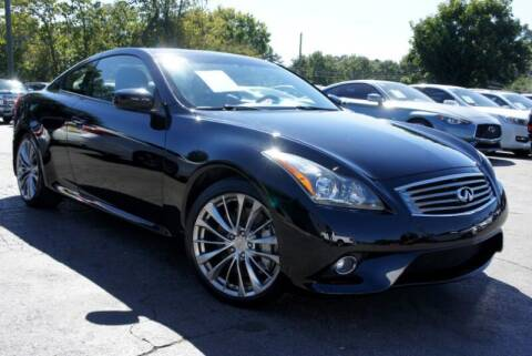2013 Infiniti G37 Coupe for sale at CU Carfinders in Norcross GA