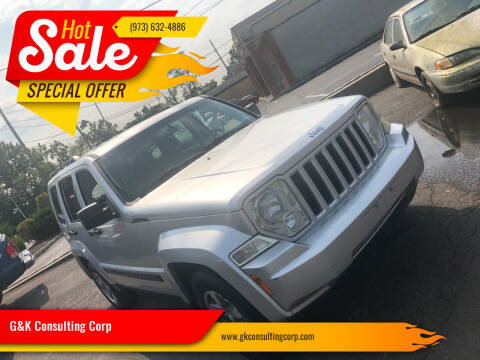 2008 Jeep Liberty for sale at G&K Consulting Corp in Fair Lawn NJ
