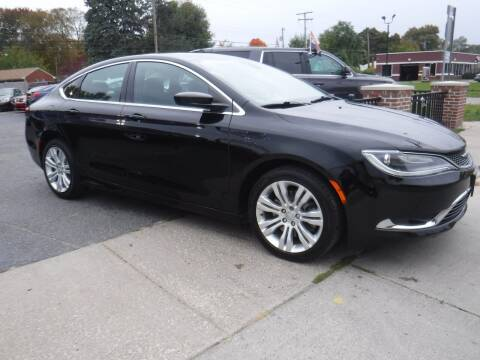 2015 Chrysler 200 for sale at City Motors Auto Sale LLC in Redford MI