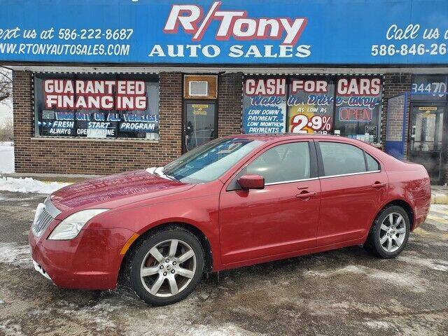 2010 Mercury Milan for sale at R Tony Auto Sales in Clinton Township MI