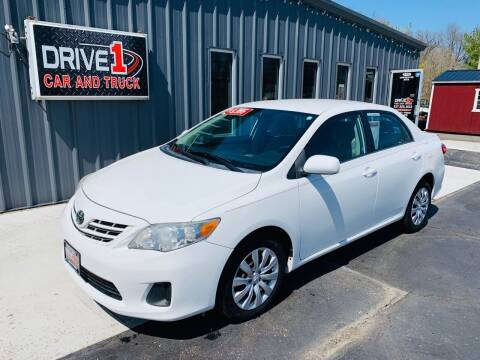 2013 Toyota Corolla for sale at Drive 1 Car & Truck in Springfield OH