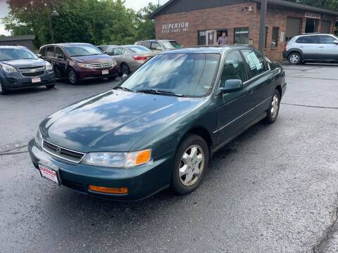 1997 Honda Accord for sale at Superior Used Cars Inc in Cuyahoga Falls OH