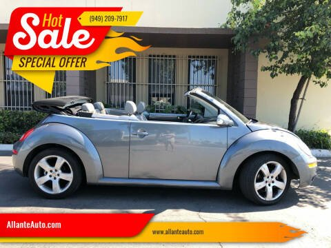 2006 Volkswagen New Beetle for sale at AllanteAuto.com in Santa Ana CA