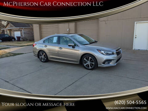 2018 Subaru Legacy for sale at McPherson Car Connection LLC in Mcpherson KS