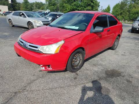 2008 Ford Focus for sale at Cruisin' Auto Sales in Madison IN