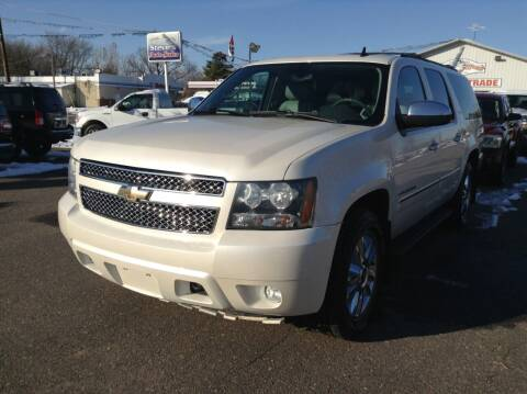 2010 Chevrolet Suburban for sale at Steves Auto Sales in Cambridge MN