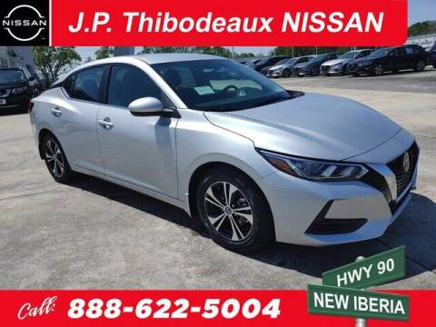 2021 Nissan Sentra for sale at J P Thibodeaux Used Cars in New Iberia LA