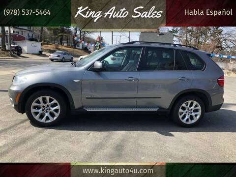 2012 BMW X5 for sale at King Auto Sales in Leominster MA