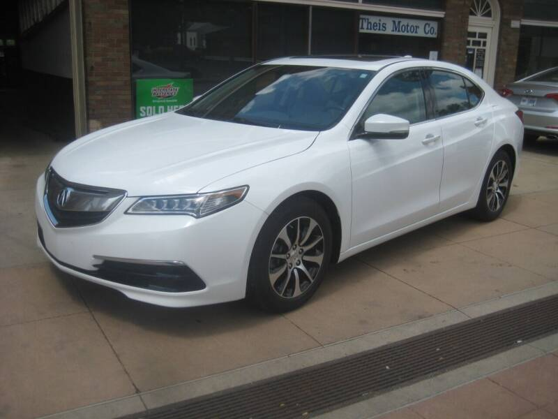 2016 Acura TLX for sale at Theis Motor Company in Reading OH