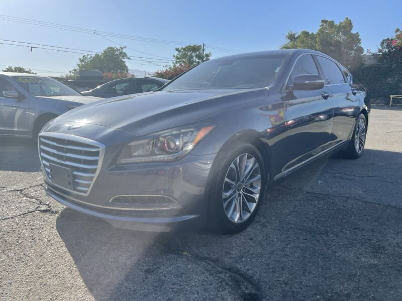 2015 Hyundai Genesis for sale at AutoHaus in Colton CA