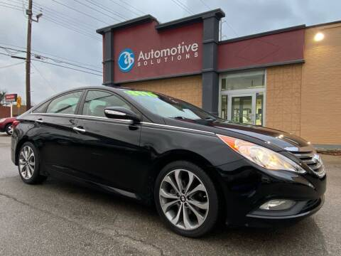2014 Hyundai Sonata for sale at Automotive Solutions in Louisville KY