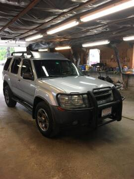 2002 Nissan Xterra for sale at Lavictoire Auto Sales in West Rutland VT