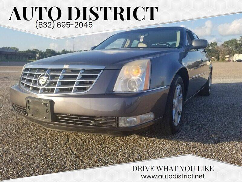 2007 Cadillac DTS for sale at Auto District in Baytown TX