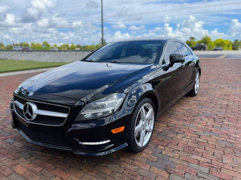 2014 Mercedes-Benz CLS for sale at Internet Motorcars LLC in Fort Myers FL