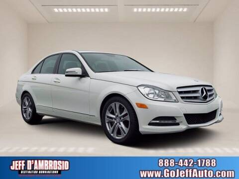 2012 Mercedes-Benz C-Class for sale at Jeff D'Ambrosio Auto Group in Downingtown PA