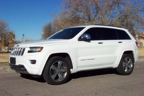 2014 Jeep Grand Cherokee for sale at Park N Sell Express in Las Cruces NM