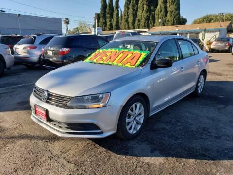 2015 Volkswagen Jetta for sale at LR AUTO INC in Santa Ana CA