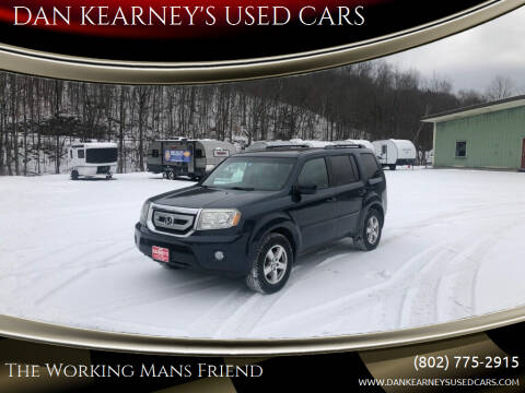 2011 Honda Pilot for sale at DAN KEARNEY'S USED CARS in Center Rutland VT
