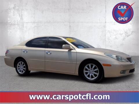 2002 Lexus ES 300 for sale at Car Spot Of Central Florida in Melbourne FL