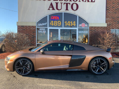2020 Audi R8 for sale at Professional Auto Sales & Service in Fort Wayne IN