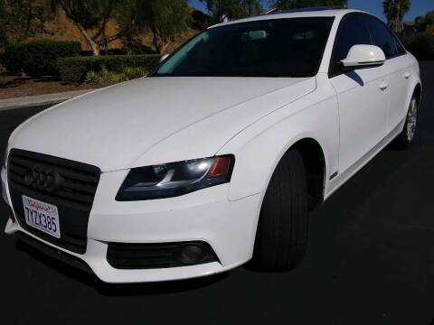 2009 Audi A4 for sale at Trini-D Auto Sales Center in San Diego CA