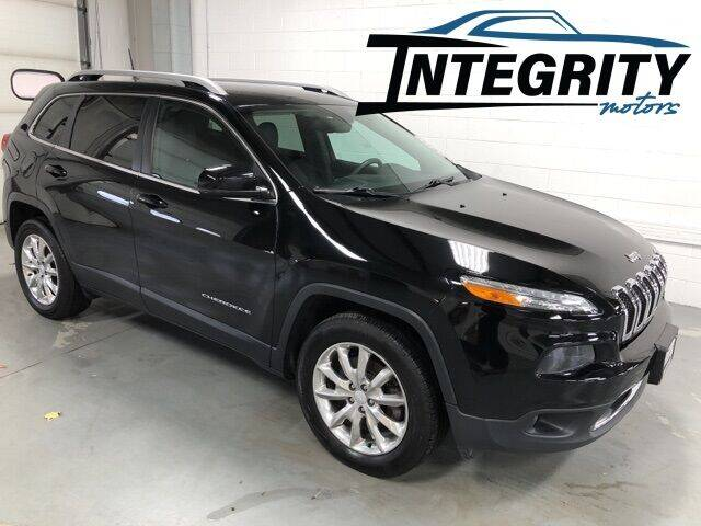 2017 Jeep Cherokee for sale at Integrity Motors, Inc. in Fond Du Lac WI