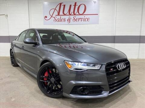2017 Audi S6 for sale at Auto Sales & Service Wholesale in Indianapolis IN
