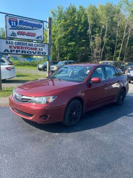 2011 Subaru Impreza for sale at ROUTE 11 MOTOR SPORTS in Central Square NY