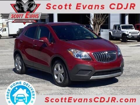2015 Buick Encore for sale at SCOTT EVANS CHRYSLER DODGE in Carrollton GA