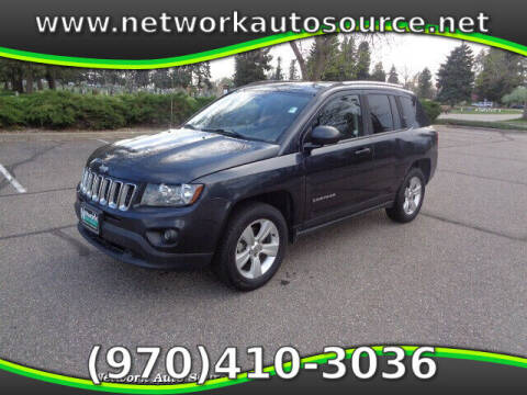 2014 Jeep Compass for sale at Network Auto Source in Loveland CO