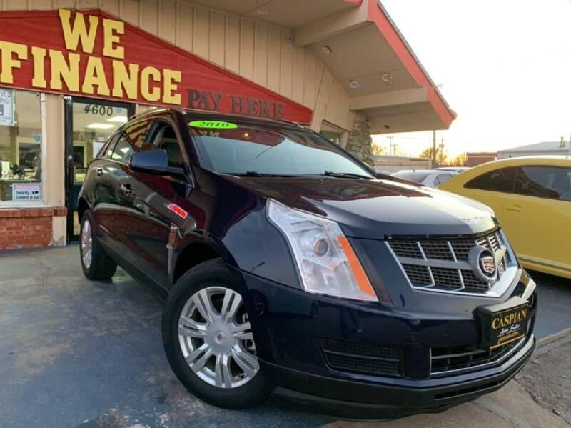 2010 Cadillac SRX for sale at Caspian Auto Sales in Oklahoma City OK