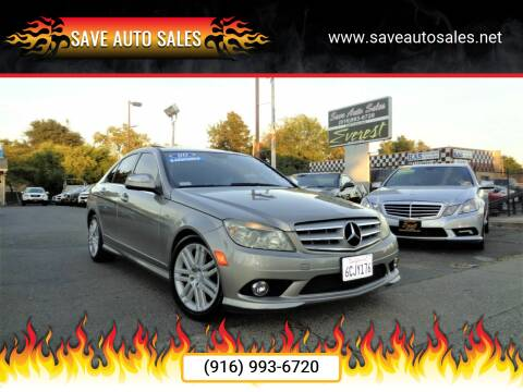 2008 Mercedes-Benz C-Class for sale at Save Auto Sales in Sacramento CA